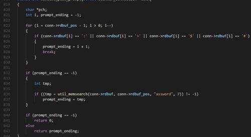 Searching for the Reuse of Mirai Code: Hide 'N Seek Bot