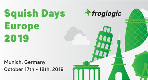 Squish Days Europe 2019 - Oct 17, 2019
