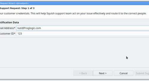 Faster Tech Support via the Squish IDE