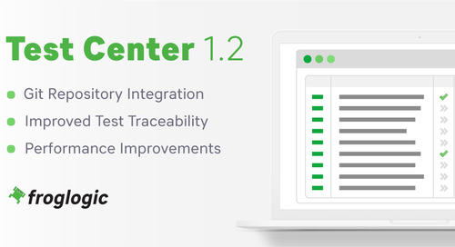Test Center 1.2: Now Available!