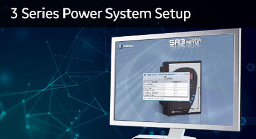 3SP-1014 - 3 Series power system setup