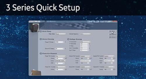 3SP-1016 - 3 Series quick setup