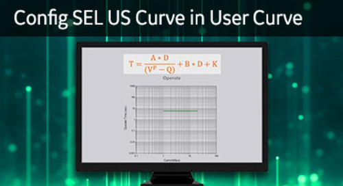 3SP-1028 - Config SEL US curve in user curve