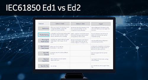 61850-1007 - Differences - IEC 61850 Ed1 vs Ed2
