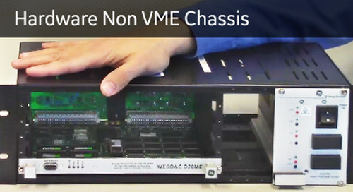 D20-1017 - D20 Hardware Non VME Chassis