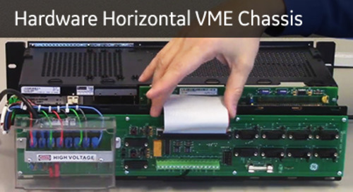 D20-1018 - D20 Hardware Horizontal VME Chassis