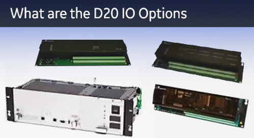 D20-1022 - D20 What are the D20 IO options