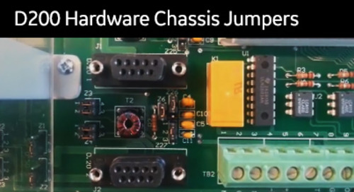 D20-1003 - D200 Hardware Chassis Jumpers