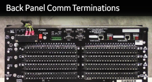 D25-1012 - D25 How2 - Understanding back panel communication-terminations