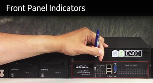 D400-1002 - D400 How2 - Front panel indicators