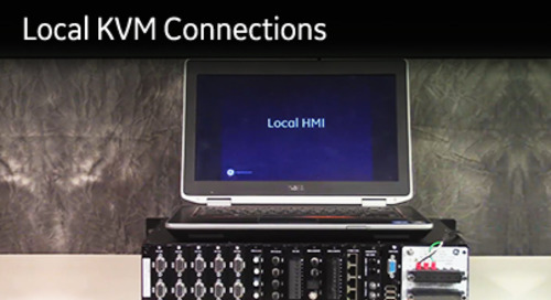 D400-1009 - D400 How2 - Local KVM connections