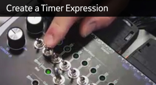 D400-1012 - D400 Configuration How2 - Create a timer expression