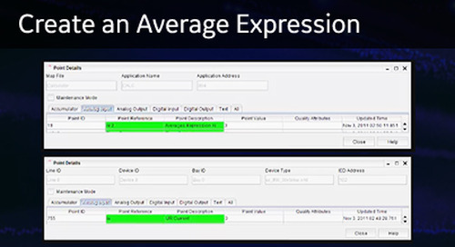 D400-1016 - D400 Configuration How2 - Create an average expression
