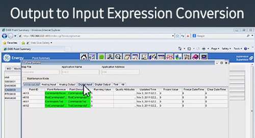 D400-1017 - D400 Configuration How2 - Create an output to input expression conversion