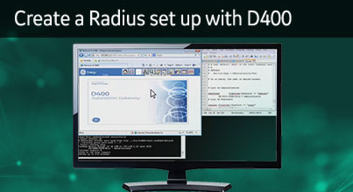 D400-1019 - D400 Cyber Security How2 - Create a Radius set up with D400