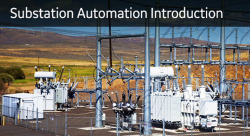 SA-102 - Substation Automation Introduction