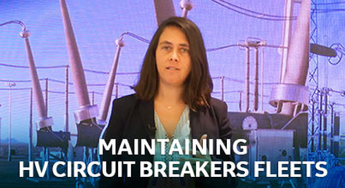 Maintaining HV Circuit Breakers Fleets