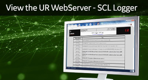 UR-1047 - View the UR WebServer - SCL Logger