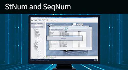 UR-1051 - RxGOOSE Statistics - StNum and SeqNum