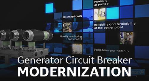 GCB Modernization of EDF Pumped Storage Station