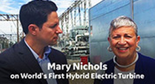 Mary Nichols on World's First Hybrid Electric Gas Turbine