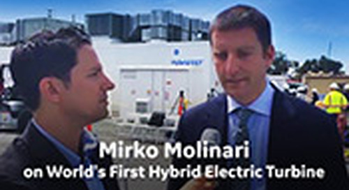 Mirko Molinari on World's First Hybrid Electric Gas Turbine