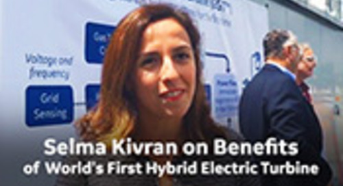 Selma Kivran on Benefits of World's First Hybrid Electric Gas Turbine