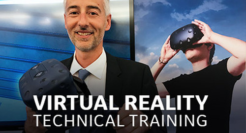 Virtual Reality Technical Training – Safe, Hands-on and Engaging