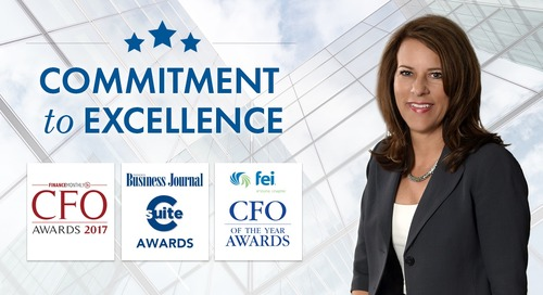 GlobalTranz CFO Honored by the Financial Community for Her Commitment to Excellence