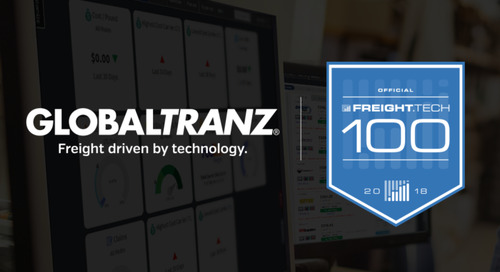 GlobalTranz Named to Freight.Tech 100 List by FreightWaves