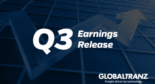 GlobalTranz Reports Continued Record Results in the Third Quarter