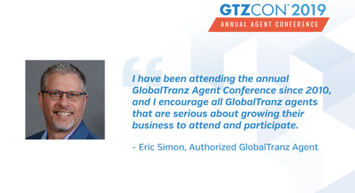 Why I Attend the GlobalTranz Agent Conference: Eric Simon