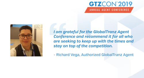 Why I Attend the GlobalTranz Agent Conference: Richard Vega