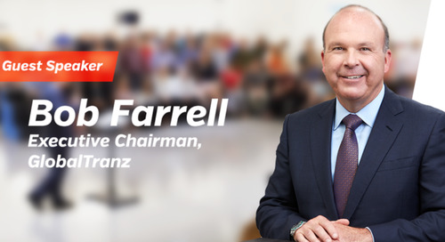 GlobalTranz Executive Chairman Bob Farrell to Speak at Two Industry Events