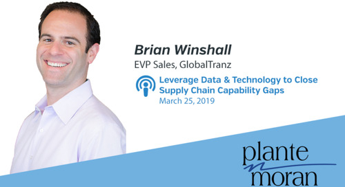 Leveraging Data and Technology to Close Supply Chain Capability Gaps