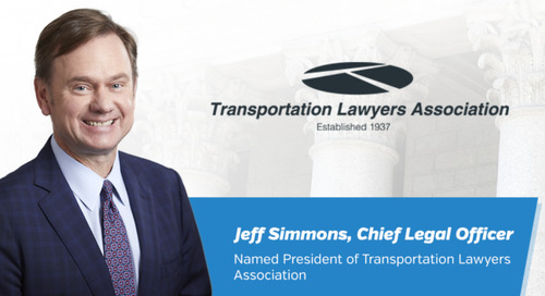GlobalTranz Chief Legal Officer Named President of Transportation Lawyers Association