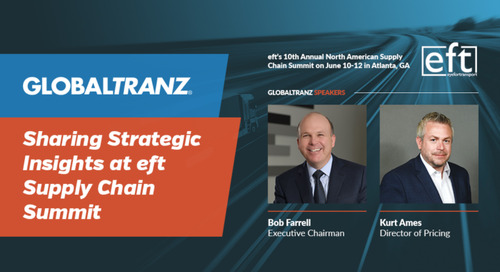 GlobalTranz Executive Chairman and Director of Pricing to Both Share Strategic Insights at Major Supply Chain Summit