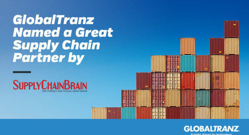 GlobalTranz Named a Great Supply Chain Partner by SupplyChainBrain