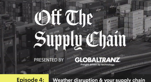 Off the Supply Chain: Weather Disruption and Your Supply Chain