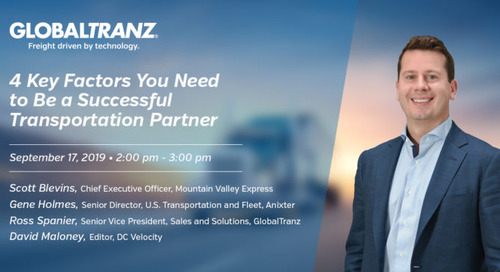 GlobalTranz Executive to Share Insights and Best Practices at CSCMP Edge