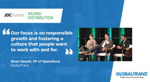 """VP of Operations Brian Nessel Shares Insights on """"The Evolving 3PL Market"""" at JOC Inland Distribution Conference"""