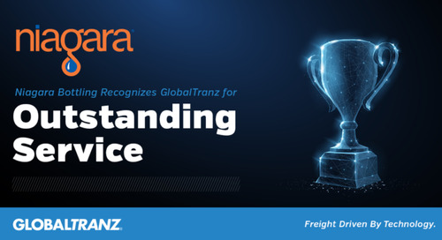 Niagara Bottling Recognizes GlobalTranz for Outstanding Service