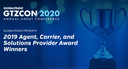 GlobalTranz Announces 2019 Agent, Carrier, and Solutions Provider Award Winners at GTZCON2020