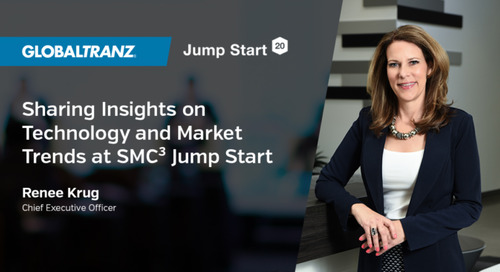 GlobalTranz CEO to Share Insights on Technology, Market Trends at SMC3 Jump Start 2020