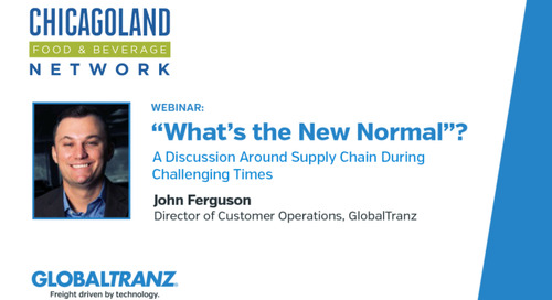 "Webinar: ""What Is the New Normal""? – A Discussion Around Supply Chain During Challenging Times"
