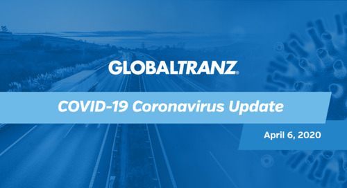 An update from GlobalTranz regarding COVID-19 Coronavirus