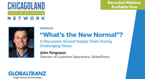 Webinar Available Now: What's the New Normal? A Discussion Around Supply Chain During Challenging Times