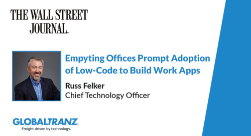 Emptying Offices Prompt Adoption of Low-Code to Build Work Apps
