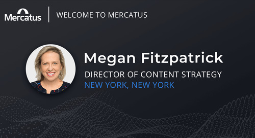 Mercatus Welcomes Megan Fitzpatrick to the Team