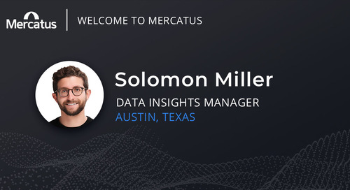 Mercatus Welcomes Solomon Miller to the Team